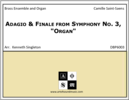 "Adagio & Finale from Symphony No. 3, ""Organ"""