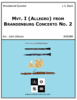 Mvt. I (Allegro) from Brandenburg Concerto No. 2